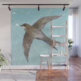 Common Swift in the air Wall Mural