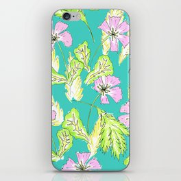 FLORAL XY iPhone Skin