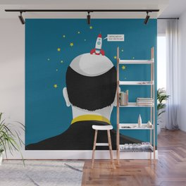 Moon Landing Wall Mural