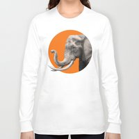 eric fan Long Sleeve T-shirts featuring Wild 6 by Eric Fan & Garima Dhawan by Garima Dhawan