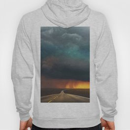 Riders on the Storm (Route 66) - The Loneliest Road in America Hoody