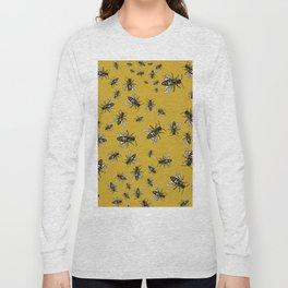 Oshun's Anthophila  (the bee study) Long Sleeve T-shirt