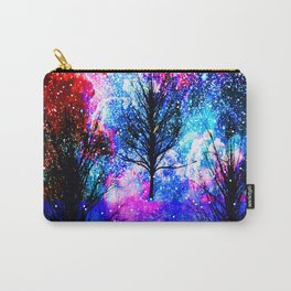 NEBULA TREES FANTASY OCEAN DREAMS Carry-All Pouch