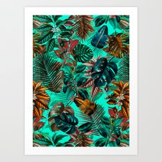 Tropical Garden II Art Print