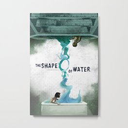 The Shape of Water Metal Print