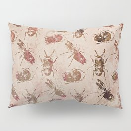 hot buggy mess persimmon brown Pillow Sham
