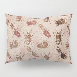 hot buggy mess persimmon brown Pillow Sham