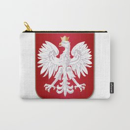 Polish Crest Carry-All Pouch