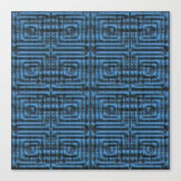 Carved in Blue Canvas Print