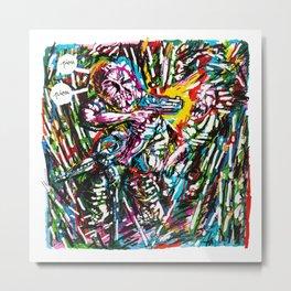 Sharpie, my love 5 Metal Print
