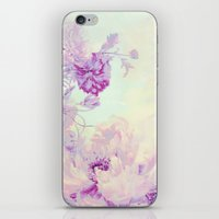 pastel iPhone & iPod Skins featuring pastel bouquet by clemm