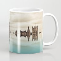 political Mugs featuring Political Fractions by Shalisa Photography