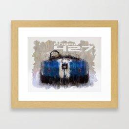 Shelby Cobra 427 Framed Art Print