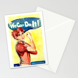 Bajoran Independence Movement Stationery Cards