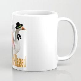 Thankful and Blessed Thanksgiving Pilgrims Coffee Mug