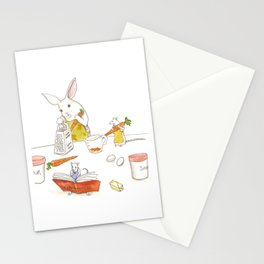 Grating Carrots Stationery Cards