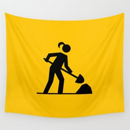 Workwoman Wall Tapestry