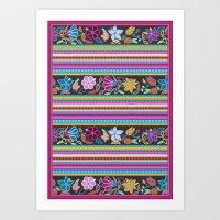 Peruvian Blanket Art Print