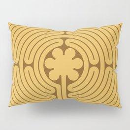Chartres Labyrinth Pillow Sham