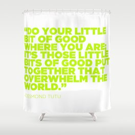 Spreading that good good Shower Curtain