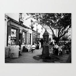 SHAKESPEARE IN PARIS. Canvas Print