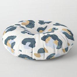 Snow Leopard Print Floor Pillow