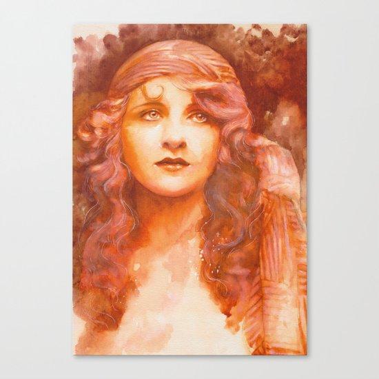 I wish you were here Canvas Print