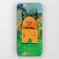 jackalope iPhone & iPod Skins featuring Jackalope by Michael Scott Murphy