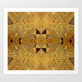 African BaKuba Art Print