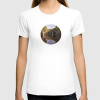 geology T-shirts featuring Mystical stone arch by UtArt