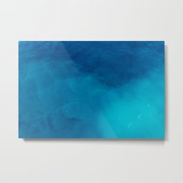 Deep Blue Wonder Metal Print