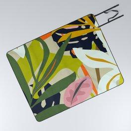 Jungle Abstract 2 Picnic Blanket