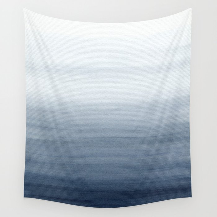 Ocean Watercolor Painting No.2 Wall Tapestry