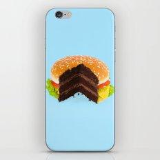 HAMBURGER CAKE iPhone Skin