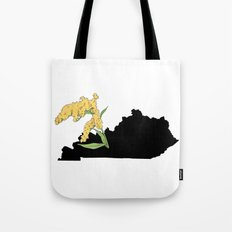 Kentucky Silhouette Tote Bag