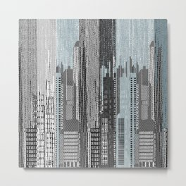 FILM NOIR / MANHATTAN  Metal Print