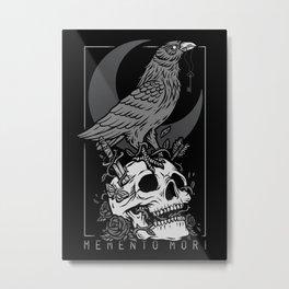 Memento Mori II Metal Print