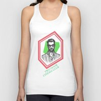 kevin russ Tank Tops featuring Kevin Baird by AnimatedWhale