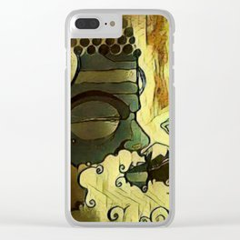 Grand Abbot. Clear iPhone Case