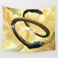 dragon ball Wall Tapestries featuring Dragon by nicky2342