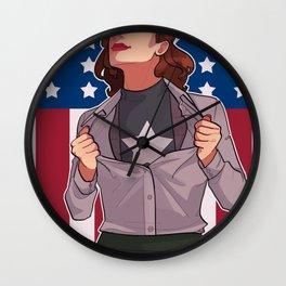 HIT 'EM AGAIN CAP Wall Clock