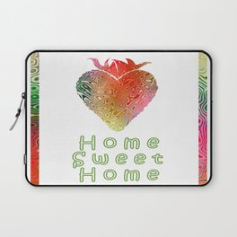 Home Sweetest Home -Typography Laptop Sleeve