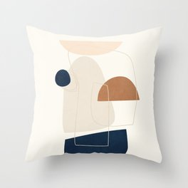 Spiraling Geometry 4 Throw Pillow