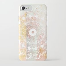WHITE MANDALA iPhone 7 Slim Case