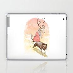 wolf and dear Laptop & iPad Skin