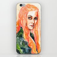 lions iPhone & iPod Skins featuring Lions by Maria Bruggeman