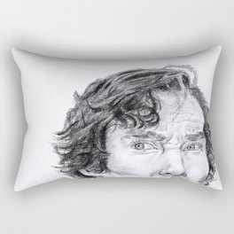 Sherlock is watching you... Rectangular Pillow