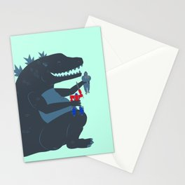 Let's be best friends forever! - Godzilla Stationery Cards