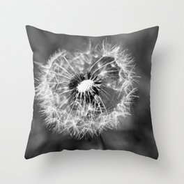 Dandelion & Autumn Throw Pillow