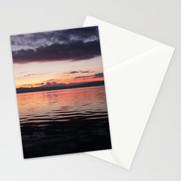 ohrid sunset Stationery Cards